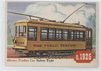 Birney Trolley Car