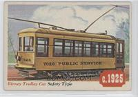 Birney Trolley Car [Good to VG‑EX]