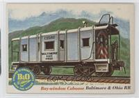 Bay-window Caboose