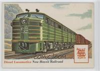 Diesel Locomotive [Good to VG‑EX]