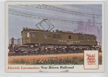 1955 Topps Rails and Sails #70 - Electric Locomotive