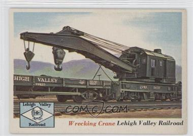 1955 Topps Rails and Sails #73 - Wrecking Crane