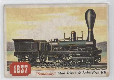 "1955 Topps Rails and Sails #76 - ""sandusky"""