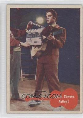 1956 Topps Bubbles Elvis Presley - [Base] #39 - Lights, Camera, Action!