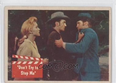 "1956 Topps Bubbles Elvis Presley #60 - ""Don't Try to Stop Me"""