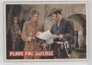 1956 Topps Davy Crockett Series 1 - [Base] #65 - Plans For Defense
