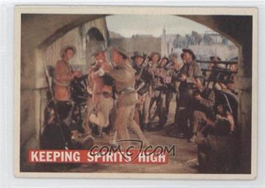 1956 Topps Davy Crockett Series 1 #63 - Keeping Spirits High