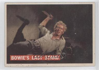 1956 Topps Davy Crockett Series 1 #80 - Bowie's Last Stand