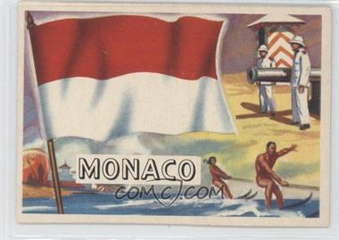 1956 Topps Flags of the World #79 - Monaco