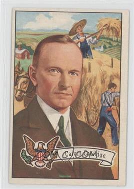1956 Topps U.S. Presidents - [Base] #32 - Calvin Coolidge