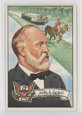 1956 Topps U.S. Presidents #23 - James A. Garfield