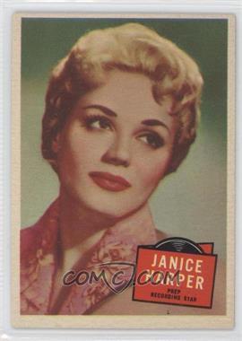 1957 Topps Hit Stars #45 - Janice Harper