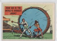 How Big is the World's Biggest Drum? [GoodtoVG‑EX]