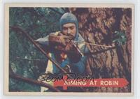 Aiming at Robin!