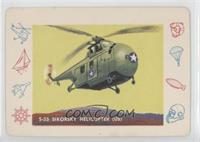 S-55 Sikorsky Helicopter (US) [Poor to Fair]