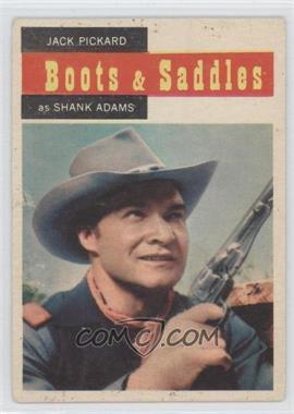 1958 Topps TV Westerns - [Base] #64 - Jack Pickard as Shank Adams