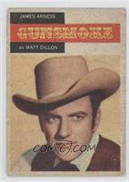 James Arness as Matt Dillon [Good to VG‑EX]