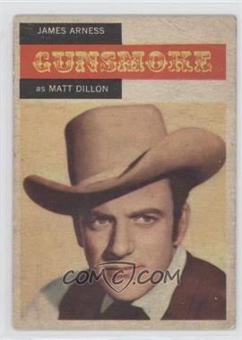 1958 Topps TV Westerns #1 - James Arness as Matt Dillon [Good to VG‑EX]