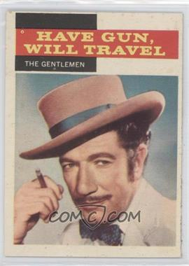 1958 Topps TV Westerns #31 - The Gentlemen