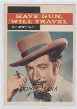 1958 Topps TV Westerns #31 - The Gentlemen