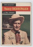 Jock Mahoney as Yancy Derringer [Good to VG‑EX]