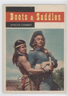 1958 Topps TV Westerns #67 - Apache Combat