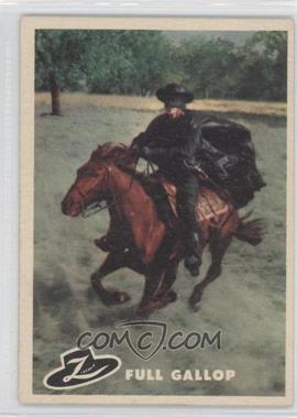 1958 Topps Walt Disney's Zorro! #29 - Full Gallop