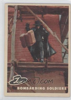 1958 Topps Walt Disney's Zorro! #35 - Bombarding Soldiers