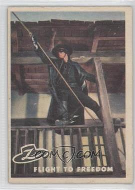 1958 Topps Walt Disney's Zorro! #40 - Flight to Freedom
