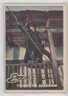 1958 Topps Walt Disney's Zorro! #40 - Flight to Freedom