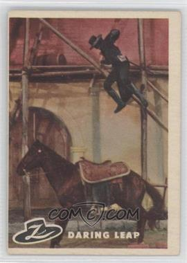 1958 Topps Walt Disney's Zorro! #41 - Daring Leap
