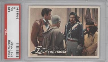 1958 Topps Walt Disney's Zorro! #49 - The Threat [PSA 5]