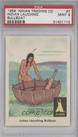 Indian Launching Bullboat [PSA9]