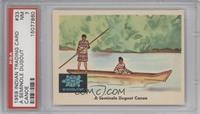 A Seminole Dugout Canoe [PSA7]