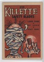 Use Killette Safety Blades