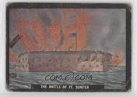The Battle of Ft. Sumter [Poor to Fair]