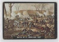 Battle of Ft. Donelson, 1862 [Good to VG‑EX]