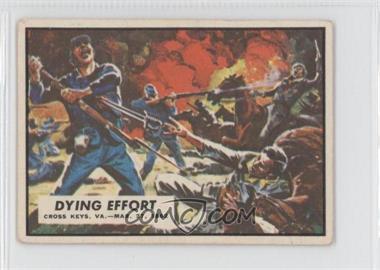 1962 A&BC Civil War News - [Base] #13 - Dying Effort [GoodtoVG‑EX]