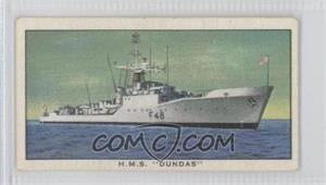 "1962 Kellogg Ships of the British Navy - Food Issue [Base] #12 - H.M.S. ""Dundas"" [Good to VG‑EX]"