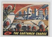 The Earthmen Charge