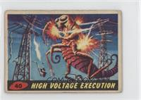 High Voltage Execution [Good to VG‑EX]