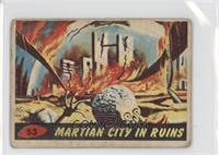 Martian City in Ruins [Good to VG‑EX]