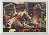Burning Cattle [Good to VG‑EX]