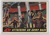 Attacking an Army Base