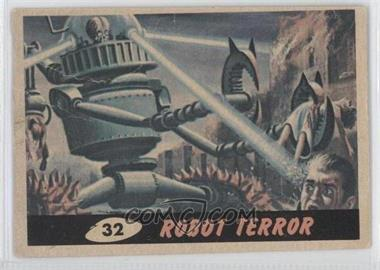 1962 Topps Bubbles Mars Attacks! #32 - Robot Terror [Good to VG‑EX]