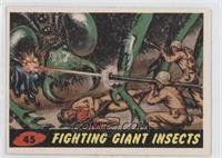 Fighting Giant Insects