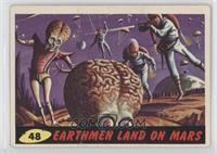 Earthmen Land On Mars [Good to VG‑EX]