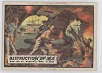 Destruction at Sea