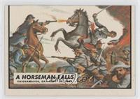 A Horseman Falls