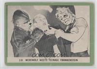 Werewolf Meets Teenage Frankenstein [GoodtoVG‑EX]